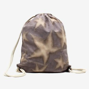 mochila saco algodon reciclado ecoprint tintes naturales wül