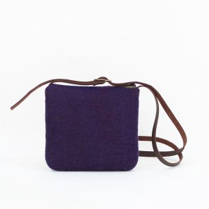 bolso pequeño bandolera fieltro lana wul