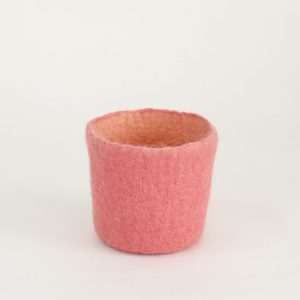 cuenco bowl bol vessel fieltro lana contenedor vaciabolsillos tiesto macetas plantas